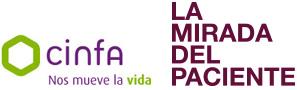 La mirada del paciente Logo
