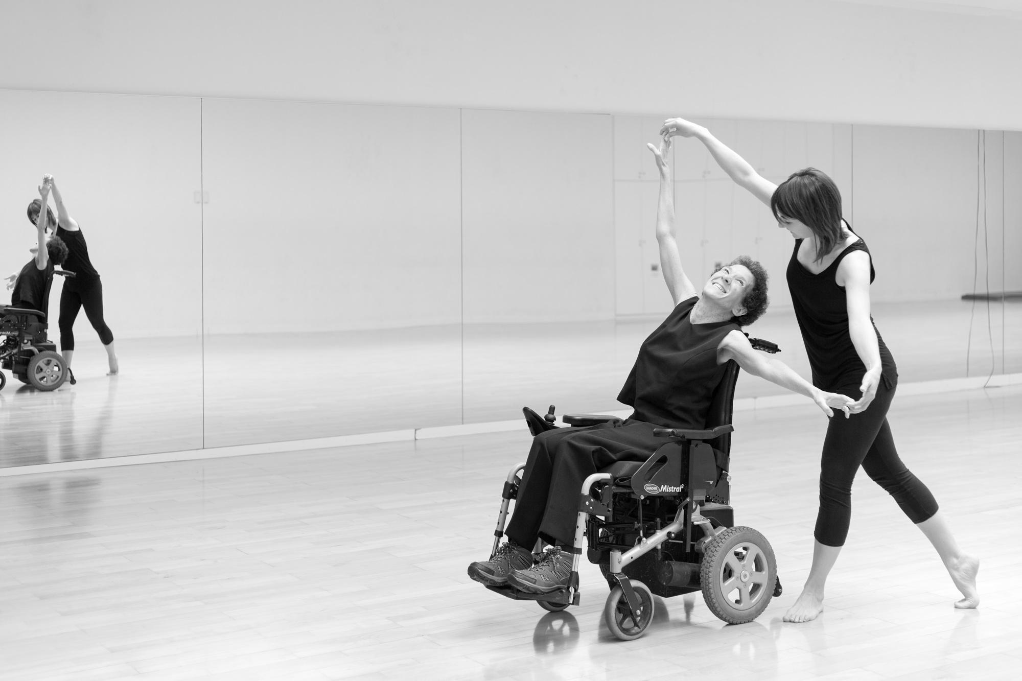 el baile como terapia